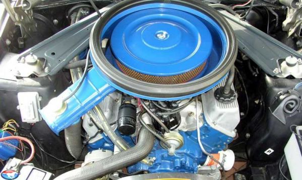1971 Boss 351 engine.