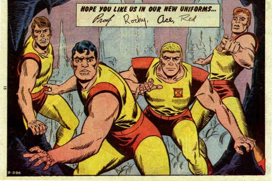 DC Comics Challengers of the Unknown