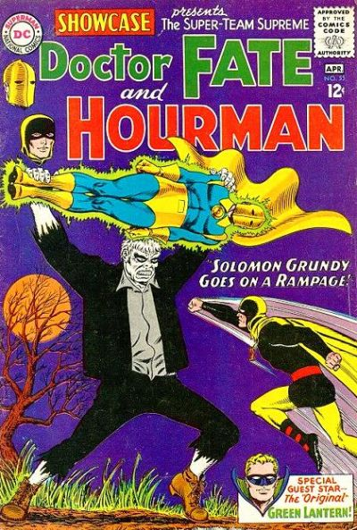 DC Comics Showcase with Doctor Fate and the Hourman versus Solomon Grundy