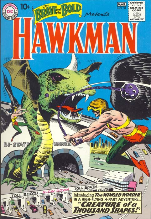 DC Comics The Brave and the Bold featuring Hawkman