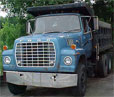 Dump truck from story What goes around