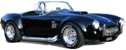 Image of a Shelby Cobra supercar
