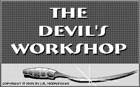 The Devil's Workshop opening screen